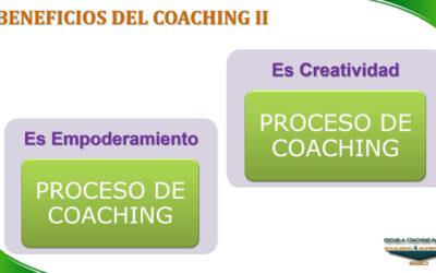 ESECI Coaching: Beneficios del Coaching II