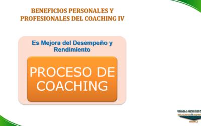 ESECI Coaching: Beneficios del Coaching IV