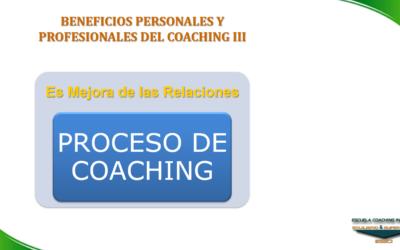 ESECI Coaching: Beneficios del Coaching III